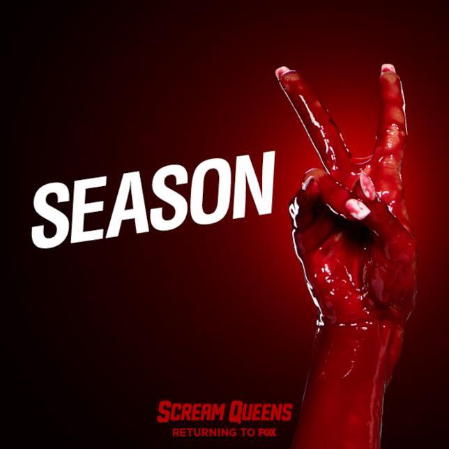 Scream Queens 2, l'annuncio della seconda stagione