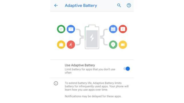 Android 9.0 Pie presenta una batteria adattiva e intelligente, che ti fa risparmiare in termini di dati e consumi.