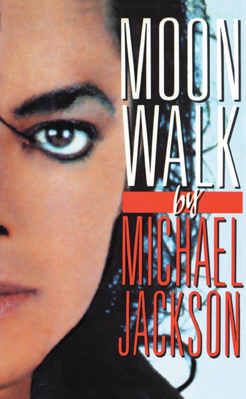 La copertina d Monnwalk, l'autobiografia di Michael Jackson