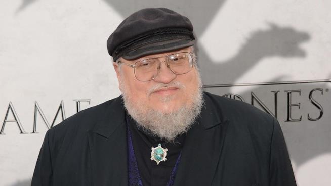 George R.R. Martin sul red carpet di Game of Thrones