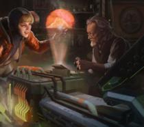 Wattson e suo padre in Apex Legends
