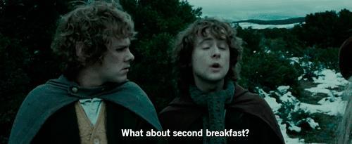 E la seconda colazione?
