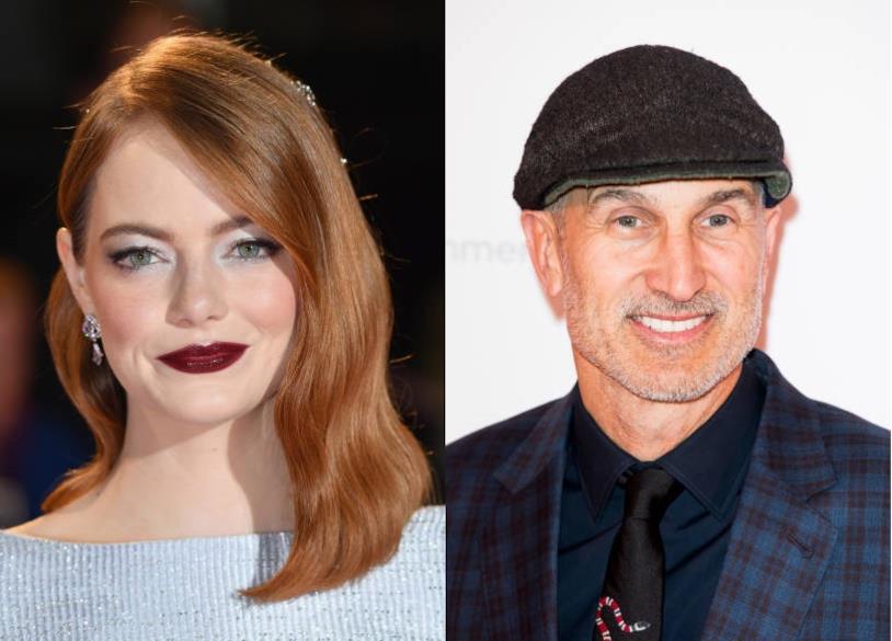 Il premio Oscar Emma Stone e il regista di Tonya Craig Gillespie