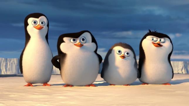 I pinguini di Madagascar: Skipper, Kowalski, Soldato e Rico