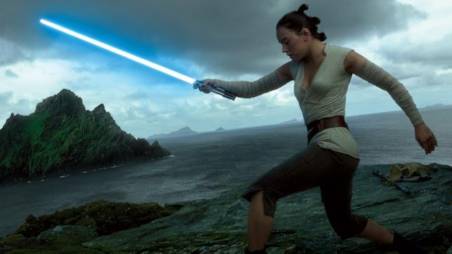 Rey e la spada degli Skywalker