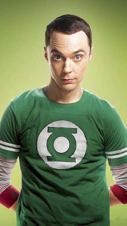 Sheldon Lanterna Verde