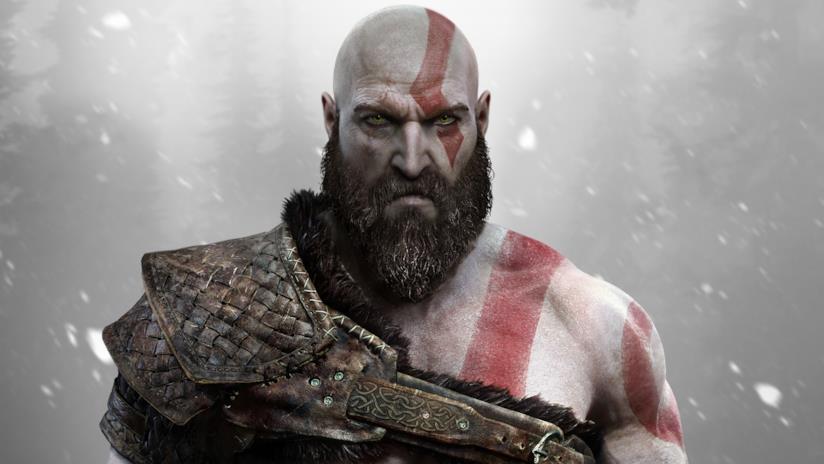 Kratos invecchiato nel nuovo gioco per PS4