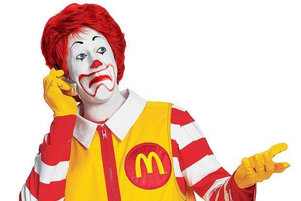 Ronald McDonald, il clown della catena di ristorazione