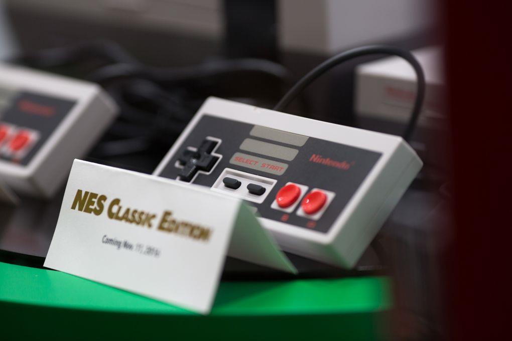 NES Classic Mini nei negozi l'11 novembre