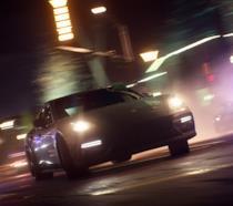 Un bolide sfreccia nella notte in Need for Speed Payback