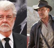 George Lucas e Indiana Jones