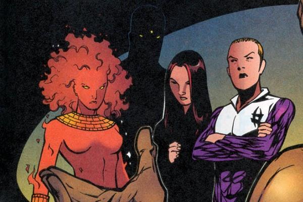 Il gruppo mutante dei New Hellions con Switch