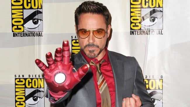 Robert Downey Jr. Al San Diego Comic-Con per Iron Man 3