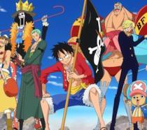One Piece ciurma Cappello di Paglia