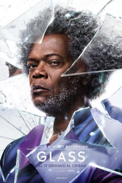 Glass: il character poster con Elijah Price (Samuel L. Jackson)
