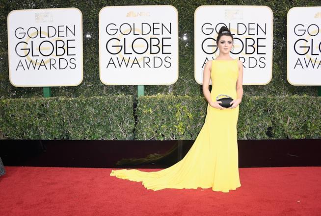 Maisie Williams  ai Golden Globe