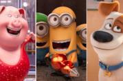 I protagonisti di Sing, Minions e Pets - Vita da Animali