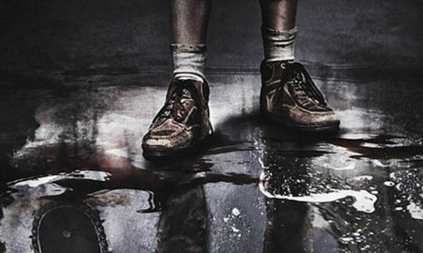 Immagine dal poster ufficiale di Leatherface