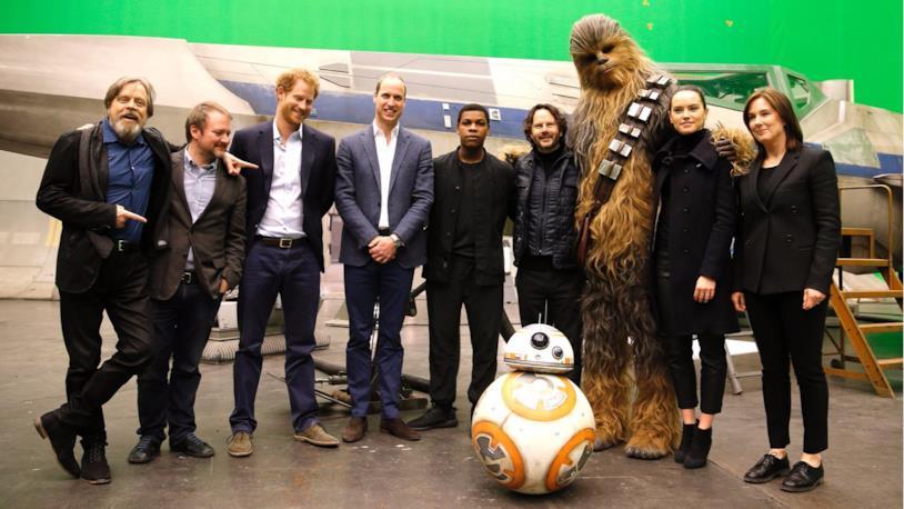Star Wars: Gli Ultimi Jedi, foto dal set