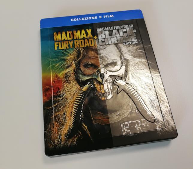 Mad Max: Fury Road, front del box-set