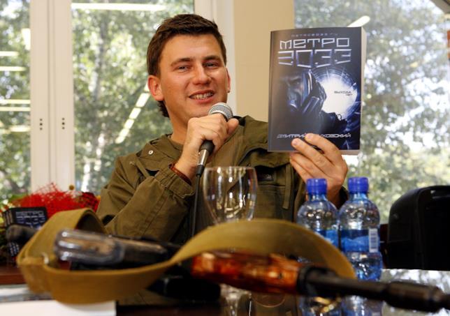 Glukhovsky, autore della serie Metro, con il suo primo romanzo