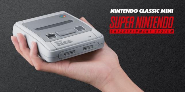 Nintendo annuncia la versione mini del SNES
