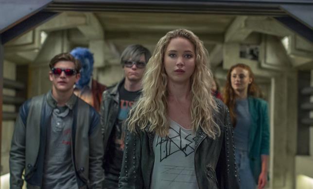 Mystica, Ciclope, Bestia, Jean Grey e Quicksilver in X-Men - Apocalisse