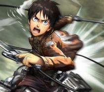 Il protagonista di Attack on Titan: Wings of Freedom pronto a sferrare il suo attacco