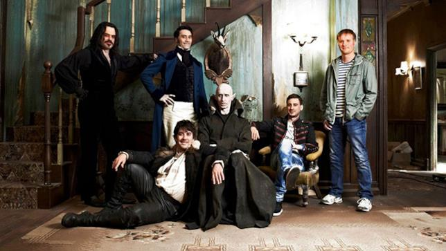 Il cast di What we do in the Shadows