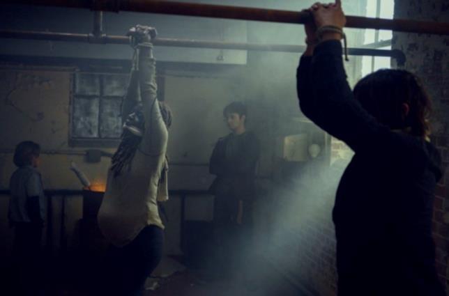 The Walking Dead 9x14: Michonne e Daryl catturati