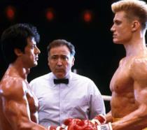 Scena di Rocky 4