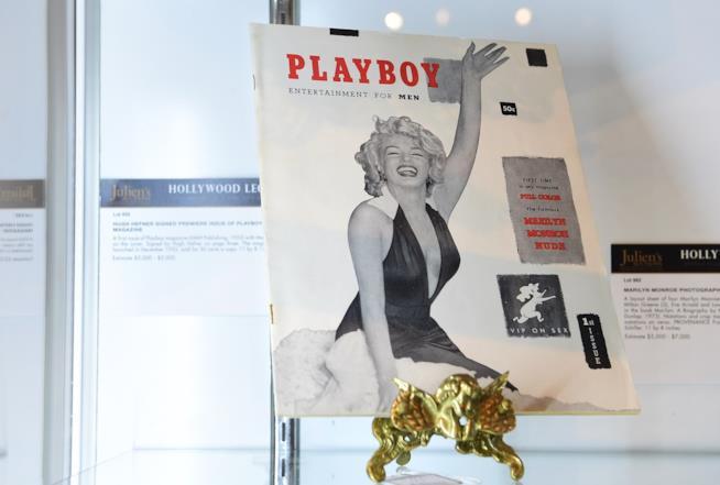 Playboy - Marilyn Monroe in copertina