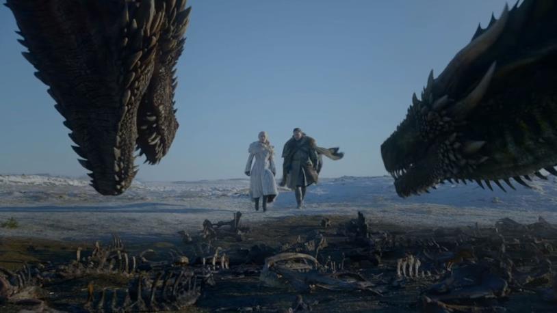Immagine di Jon e Daenerys