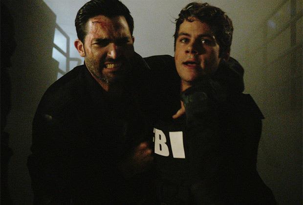 Derek e Stiles in Teen Wolf 6