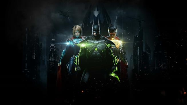 Eroi e criminali DC Comics combattono in Injustice 2