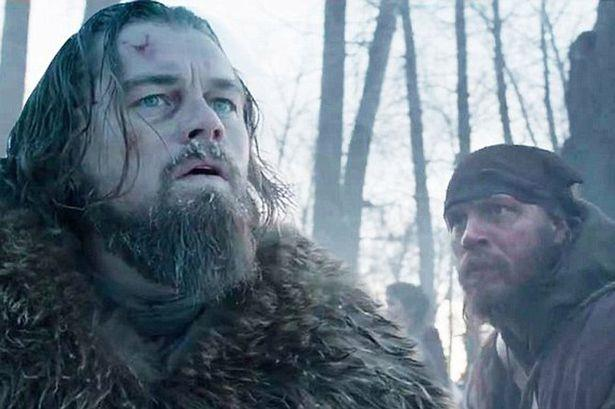 Leonardo DiCaprio e Tom Hardy nel film Revenant - Redivivo