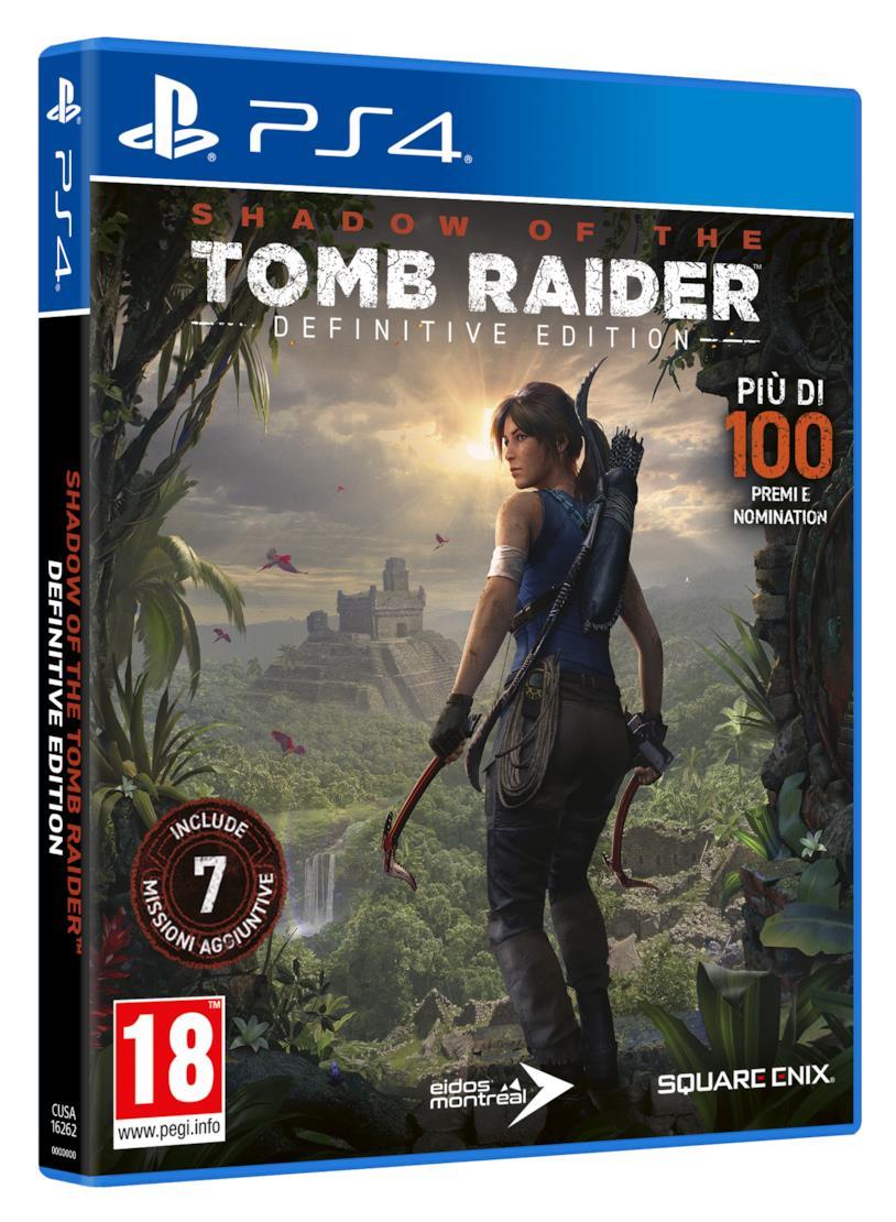 La boxart di Shadow of the Tomb Raider - Definitive Edition