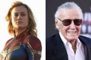 Captain Marvel e Stan Lee