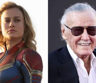 Captain Marvel e Stan Lee