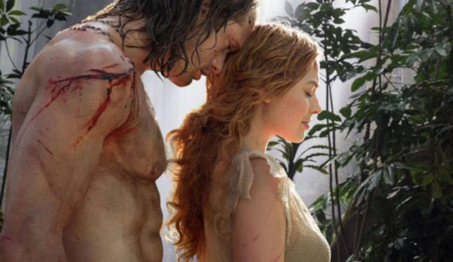 Una scena de The legend of Tarzan
