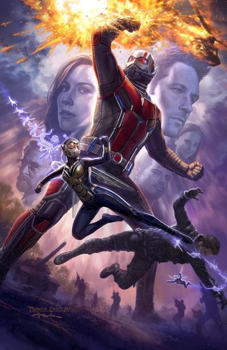 Il primo poster di Ant-Man & The Wasp presentato al SDCC 2017