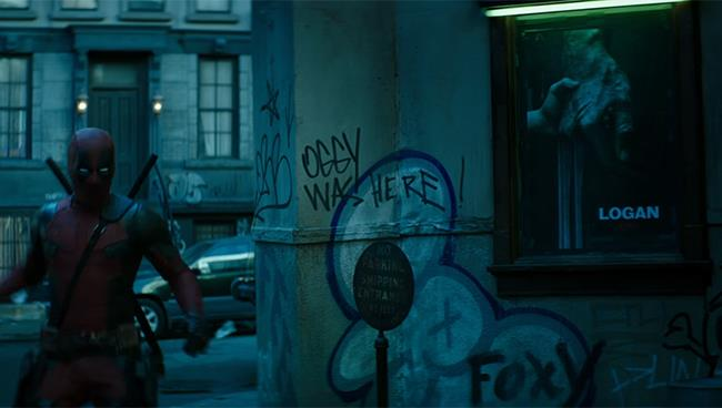 Deadpool 2: l'easter egg di Oggy