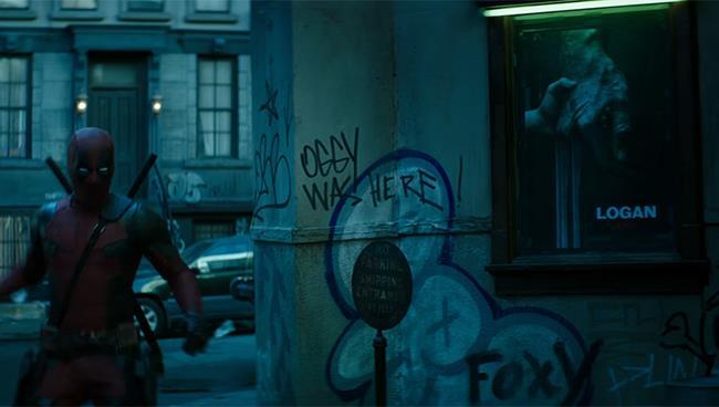 Deadpool 2: l'easter egg di Oggy