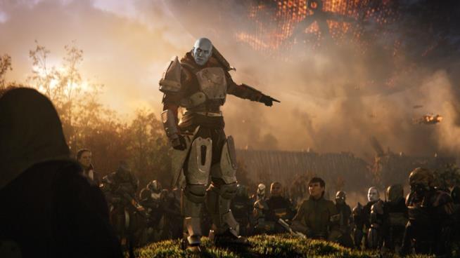 Zavala incita le truppe nel primo trailer di Destiny 2