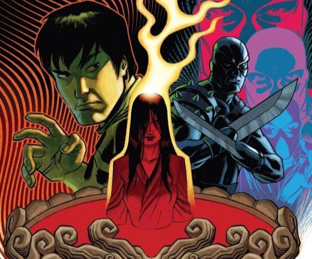 Dettaglio della copertina di Deadly Hands of Kung Fu #4