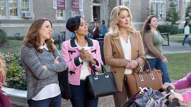 Gwendolyn (Christina Applegate) Vicky (Annie Mumolo) e Stacy (Jada Pinkett Smith), Bad Moms