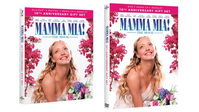 Mamma Mia! in versione DVD e Blu-ray