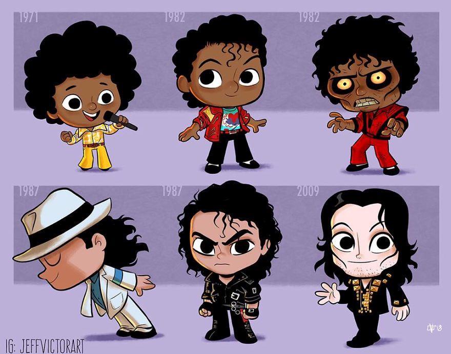 L'evoluzione delle icone della cultura pop: Michael Jackson