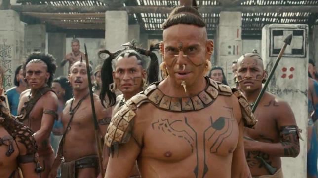 Alcuni guerrieri Maya di Apocalypto