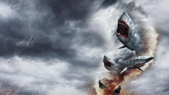 Il poster di Sharknado 5: Global Swarming